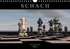 9783665564421 - Bleicher, Renate: SCHACH - Spiel der Könige (Wandkalender 2017 DIN A4 quer) - کتاب
