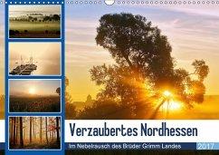9783665565077 - Klapp, Lutz: Verzaubertes Nordhessen (Wandkalender 2017 DIN A3 quer) - کتاب