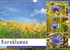 9783665564902 - Löwer, Sabine: Kornblumen - Blaue Schönheiten (Wandkalender 2017 DIN A4 quer) - Buch