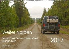 9783665565190 - Bittner, Martin: Weiter Norden - Mit dem VW California unterwegs in Skandinavien (Wandkalender 2017 DIN A2 quer) - کتاب