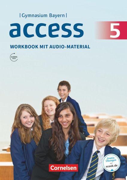 access bayern 5 jahrgangsstufe workbook mit audios online und mybook schulb cher. Black Bedroom Furniture Sets. Home Design Ideas