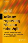 Software Engineering Education Going Agile (eBook, PDF)