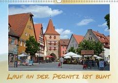 9783665564704 - Hubner, Katrin: Lauf an der Pegnitz ist bunt (Wandkalender 2017 DIN A3 quer) - Buch