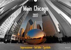 9783665564551 - Steffl, Mike Hans: Mein Chicago. Impressionen - Gefühle - Symbole (Wandkalender 2017 DIN A3 quer) - کتاب