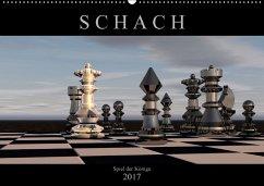 9783665564445 - Bleicher, Renate: SCHACH - Spiel der Könige (Wandkalender 2017 DIN A2 quer) - Buch