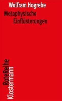Metaphysische Einflüsterungen - Hogrebe, Wolfram