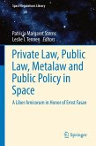 Private Law, Public Law, Metalaw and Public Policy in Space (eBook, PDF)