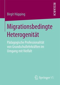 Migrationsbedingte Heterogenität (eBook, PDF) - Hüpping, Birgit