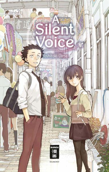 Buch-Reihe A Silent Voice