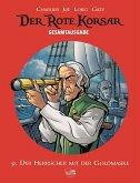 Der Herrscher mit der Goldmaske / Der Rote Korsar Gesamtausgabe Bd.9