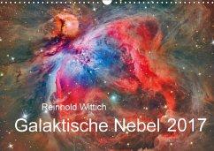 9783665565985 - Wittich, Reinhold: Galaktische Nebel (Wandkalender 2017 DIN A3 quer) - کتاب