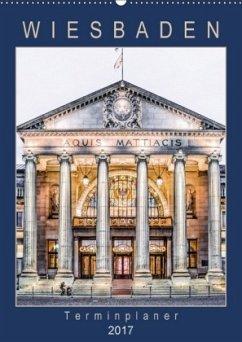 9783665566791 - Meyer, Dieter: Wiesbaden Terminplaner (Wandkalender 2017 DIN A2 hoch) - Buch