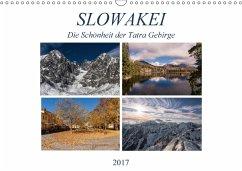 9783665565404 - Correia, Gloria: Slowakei - Die Schönheit der Tatra Gebirge (Wandkalender 2017 DIN A3 quer) - Buch