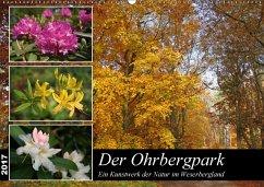 9783665566227 - Lindert-Rottke, Antje: Der Ohrbergpark (Wandkalender 2017 DIN A2 quer) - کتاب