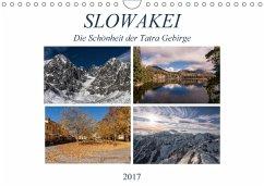 9783665565398 - Correia, Gloria: Slowakei - Die Schönheit der Tatra Gebirge (Wandkalender 2017 DIN A4 quer) - کتاب