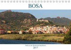 9783665565442 - Weber, Frank: BOSA - Perle an der Westküste Sardiniens (Tischkalender 2017 DIN A5 quer) - Buch
