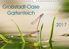 9783665566050 - Wibke Hildebrandt, Anne: Großstadt-Oase Gartenteich (Wandkalender 2017 DIN A4 quer) - Buch