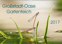 9783665566074 - Wibke Hildebrandt, Anne: Großstadt-Oase Gartenteich (Wandkalender 2017 DIN A2 quer) - کتاب
