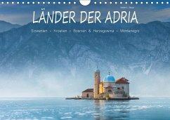 9783665565695 - Beyer, Stefan L.: Länder der Adria (Wandkalender 2017 DIN A4 quer) - کتاب