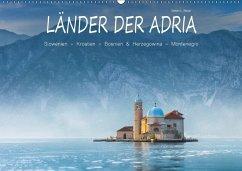 9783665565718 - Beyer, Stefan L.: Länder der Adria (Wandkalender 2017 DIN A2 quer) - کتاب