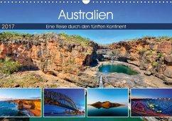 9783665565916 - Sandrock, Martin: Australien - Travel The Gravel (Wandkalender 2017 DIN A3 quer) - Buch