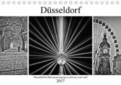 9783665565688 - Hackstein, Bettina: Düsseldorfer Rheinspaziergang in schwarz und weiß (Tischkalender 2017 DIN A5 quer) - Buch