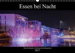 9783665565886 - Hansel, Lukas: Essen bei Nacht (Wandkalender 2017 DIN A3 quer) - کتاب