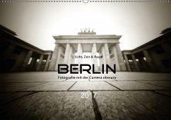 9783665566722 - Haupthoff, Manfred: Berlin - Fotografie mit der Camera obscura (Wandkalender 2017 DIN A2 quer) - Buch