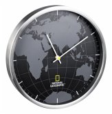National Geographic Wanduhr World