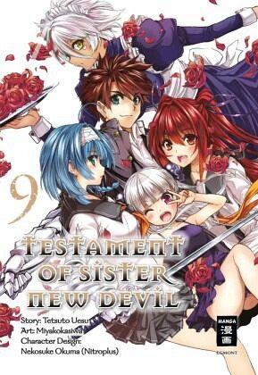 Buch-Reihe Testament of Sister New Devil
