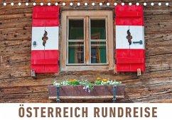 9783665565640 - Ristl, Martin: Österreich Rundreise (Tischkalender 2017 DIN A5 quer) - Buch