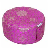 Meditationskissen CLASSIC-BROKAT Pink