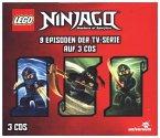 LEGO Ninjago Hörspielbox, 3 Audio-CDs