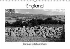 9783665568771 - Hallweger, Christian: Bezauberndes England - Streifzüge in Schwarz-Weiss (Wandkalender 2017 DIN A3 quer) - Buch