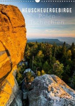 9783665568283 - Gospodarek, Mikolaj: Heuscheuergebirge (Wandkalender 2017 DIN A3 hoch) - کتاب