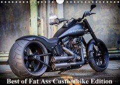 9783665567835 - Wolf, Volker: Exklusive Best of Fat Ass Custombike Edition, feinste Harleys mit fettem Hintern (Wandkalender 2017 DIN A4 quer) - Buch