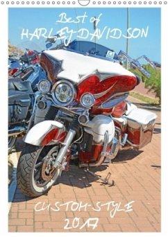 9783665567804 - Wolf, Volker: Best of Harley-Davidson Custom-Style 2017 (Wandkalender 2017 DIN A3 hoch) - Buch