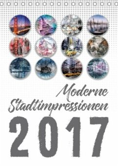9783665568689 - Viola, Melanie: Moderne Stadtimpressionen (Tischkalender 2017 DIN A5 hoch) - کتاب
