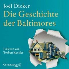 Die Geschichte der Baltimores, 2 MP3-CDs - Dicker, Joël