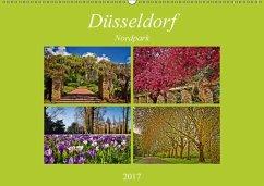 9783665566036 - Hackstein, Bettina: Düsseldorf Nordpark (Wandkalender 2017 DIN A2 quer) - کتاب