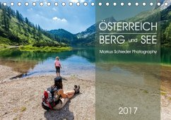 9783665567033 - Schieder, Markus: Österreich Berg und SeeAT-Version (Tischkalender 2017 DIN A5 quer) - Buch