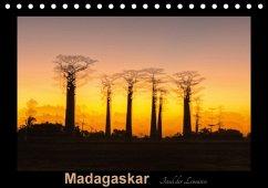 9783665567071 - Kribus, Uwe: Madagaskar - Insel der Lemuren (Tischkalender 2017 DIN A5 quer) - Buch