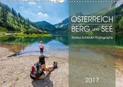 9783665567019 - Schieder, Markus: Österreich Berg und SeeAT-Version (Wandkalender 2017 DIN A3 quer) - Buch