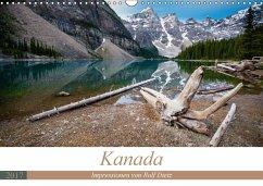 9783665568030 - Dietz, Rolf: Kanada - Impressionen von Rolf Dietz (Wandkalender 2017 DIN A3 quer) - کتاب