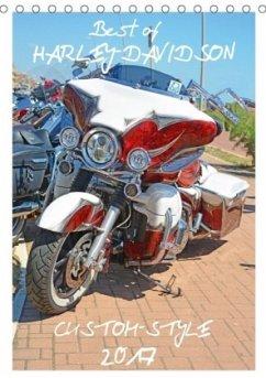 9783665567828 - Wolf, Volker: Best of Harley-Davidson Custom-Style 2017 (Tischkalender 2017 DIN A5 hoch) - Buch