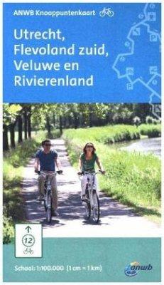 ANWB Knooppuntenkaart Utrecht, Flevoland zuid, ...