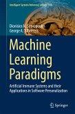 Machine Learning Paradigms (eBook, PDF)