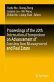 Proceedings of the 20th International Symposium on Advancement of Construction Management and Real Estate (eBook, PDF)