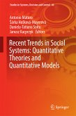 Recent Trends in Social Systems: Quantitative Theories and Quantitative Models (eBook, PDF)