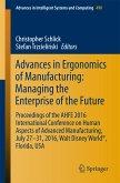 Advances in Ergonomics of Manufacturing: Managing the Enterprise of the Future (eBook, PDF)